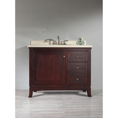 "Ove Decors Valega 42"" Single Bowl Bath Vanity"