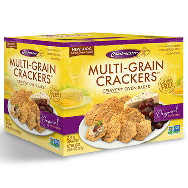 Crunchmaster� Multi-Grain Crackers - 20 oz.