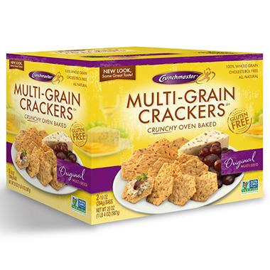 Crunchmaster Multi-Grain Crackers - 10 oz. - 2 ct.