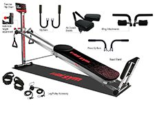 Total gym xl7 home gym with workout dvds sams club