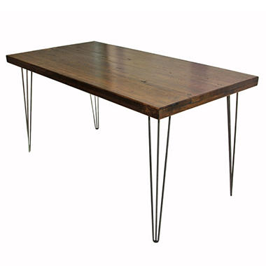 EcoVet Contemporary Reclaimed Wood Dining Table