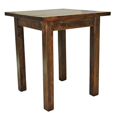 EcoVet Farmhouse Reclaimed Wood End Table