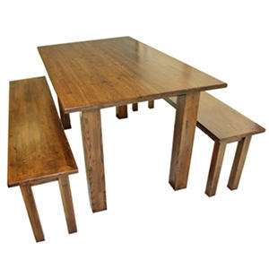 EcoVet Farmhouse Reclaimed Wood Dining Table