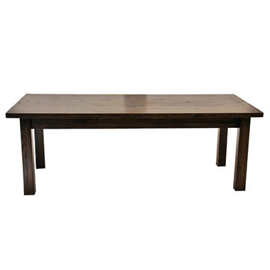 EcoVet Farmhouse Reclaimed Wood Coffee Table