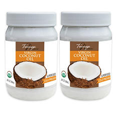 Tresomega Nutrition Organic Virgin Coconut Oil (29 oz., 2 pk.)
