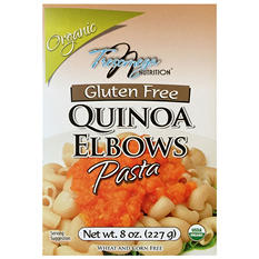 Tresomega Nutrition Organic Quinoa Pasta, Elbows (8 oz., 12 pk.)