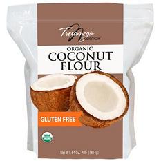 Tresomega Nutrition Organic Coconut Flour (5 lb. Bag)