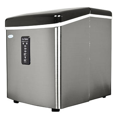 Sams Countertop Ice Maker : NewAir 28LBS Portable Ice Maker, Stainless Steel - Sams Club