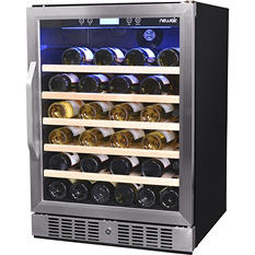 NewAir 52-Bottle Built-In Compressor Wine Cooler