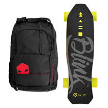 ACTON Blink Lite Electric Skateboard Bundle with SB Backpack