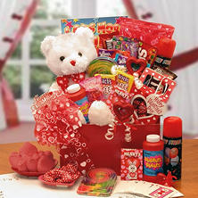 The Bear of Hearts Kids Valentine Gift Box