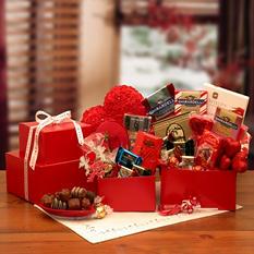 Ghirardelli Treats Valentine Chocolate Tower