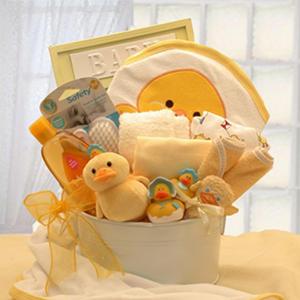 Bath Time Baby Gift Tub