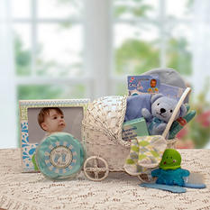 Bundle of Joy Baby Carriage in Blue