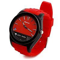 Martian Watches Notifier Smartwatch (Red)