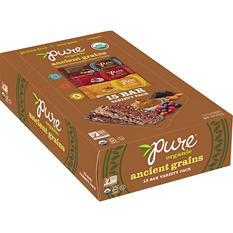 Pure Organic Ancient Grains Bars, Variety Pack (15 ct.)