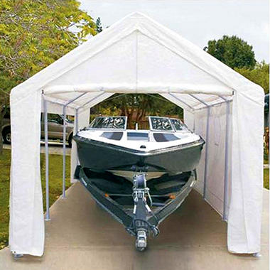 "10' 8"" x 20' Canopy with Enclosure Kit"