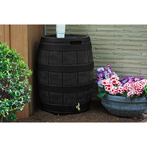 50-Gallon Rain Vault Barrel, Assorted Colors