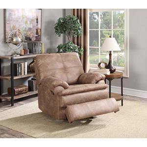 Buck Upholstered Recliner with Electrical & USB Outlets