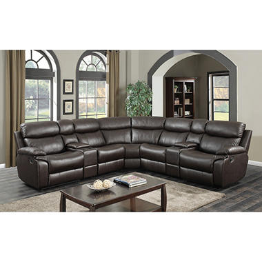 ashburn 7 piece sectional sofa sam 39 s club. Black Bedroom Furniture Sets. Home Design Ideas