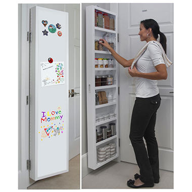 Cabidor Classic Deluxe: Dry Erase Behind-the-door Storage Cabinet