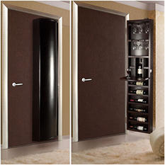 Cabidor Wine Steward Behind-the-door Storage Cabinet