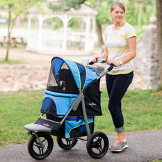 G7 Jogger Pet Stroller, Trailblazer Blue