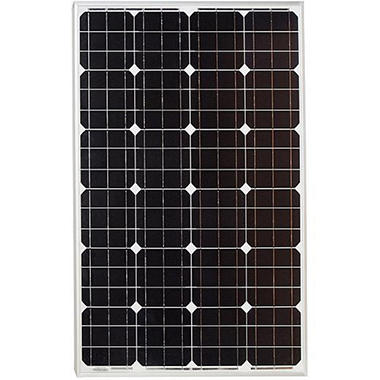 105-Watt Monocrystalline PV Solar Panel for RV's, Boats and 12-Volt Systems