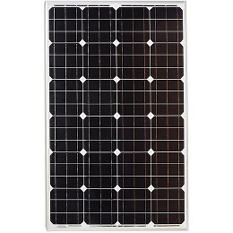 100-Watt Monocrystalline PV Solar Panel RV's, Boats and 12-volt Systems