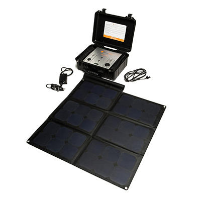 Rhyno 500 All-In-One Portable Solar Power Generator