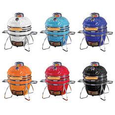 Vision Grills Diamond-Cut Cadet Kamado Grill, Assorted Colors