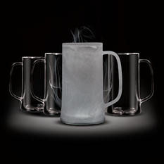 Amsterdam Home Freeze GLASS 14 oz. Beer Mug (4 pk.)
