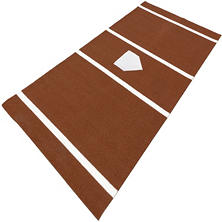 ProViri Clay Colored Home Plate - 6' x 12'