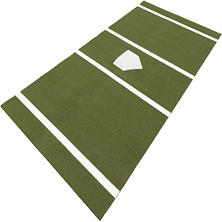 ProViri Green Softball Home Plate - 7' x 12'