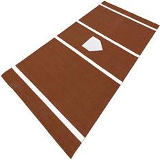 ProViri Clay Colored Softball Home Plate - 7' x 12'