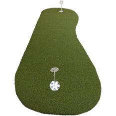 ProViri Artificial Grass Putting Green, Hourglass Shape