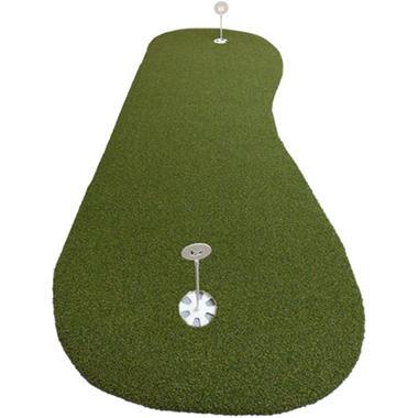 ProViri Artificial Grass Putting Green, Hourglass Shape