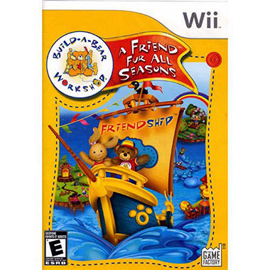 Build-a-Bear Workshop: Friend Fur All Seasons - Wii