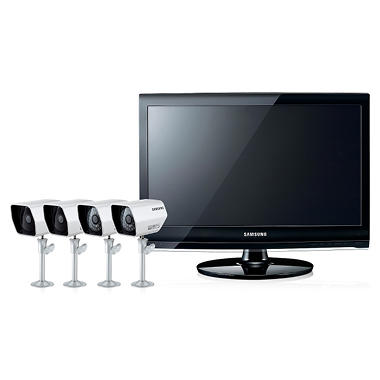 "Samsung Security System with 22"" Monitor and 8Ch DVR"