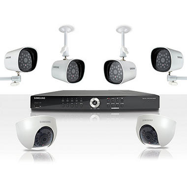 Samsung 8-Channel Real-Time DVR Surveillance System