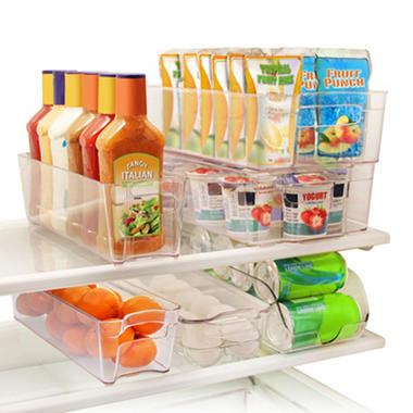 Daily Chef Stacking Fridge Bins (6 pc. set)