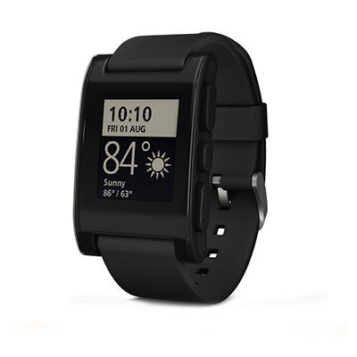 Pebble Smart Watch - Black or Red