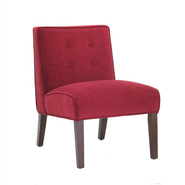 Plato Accent Chair - Berry