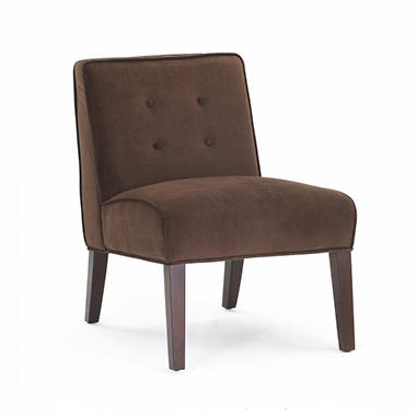 Plato Accent Chair - Chocolate