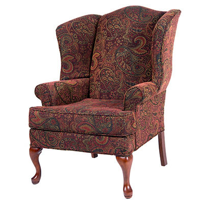 Preston Berry Wingback Chair