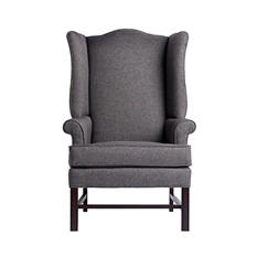 Townsend Wing Back Chair (Assorted Colors)