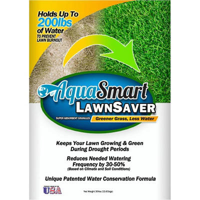 AquaSmart Lawn Saver (30 lb. Bag)