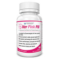 Her Pink Pill - Total Solution for Women's Daily Sexual Health (90 Day Supply)