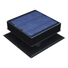 Remington Solar 20 Watt Solar-Powered Attic Fan (Black or Grey)