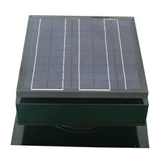 Remington Solar 25 Watt Solar Powered Attic Fan (Black or Grey)